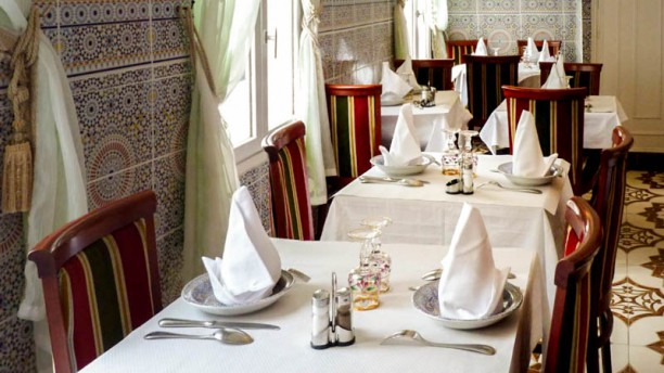 La Table du Maroc vue de la salle