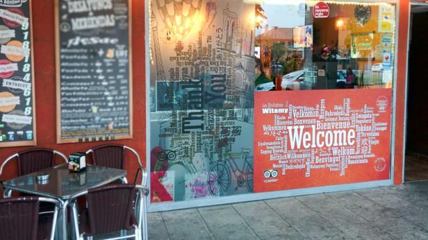 La Bohème Coffee Shop de Navalcarnero Vista entrada