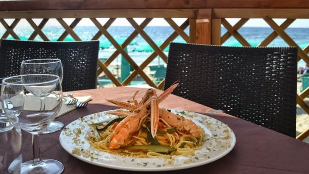 Ulivo Bianco - Fish Restaurant piatto di pesce in terrazza