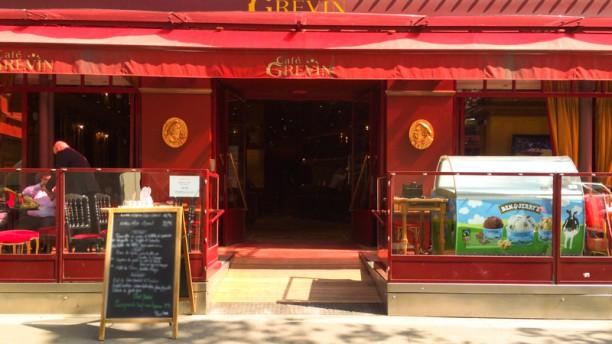 Café Grévin Entrée