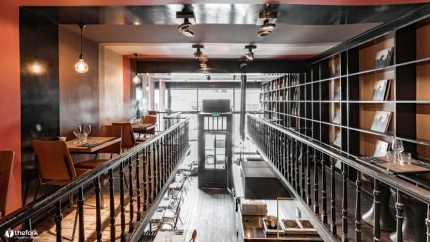 Cafe des Spores Vue de l'intérieur