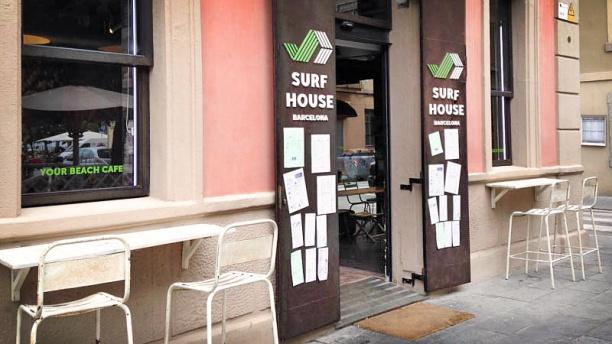 Surf House vista fachada
