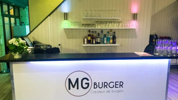 MG Burger Vue du comptoir