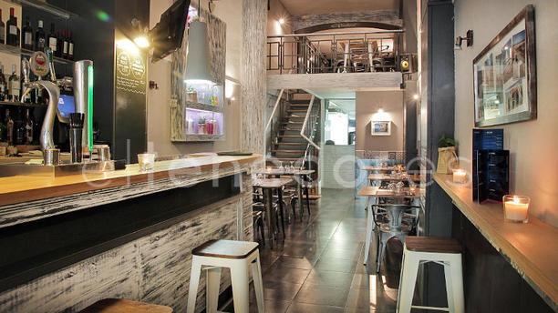 Globo Restaurant Barcelona vista interior