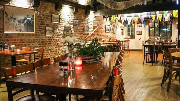 Eetcafe 'De Prins op 't Witte paart' Het restaurant