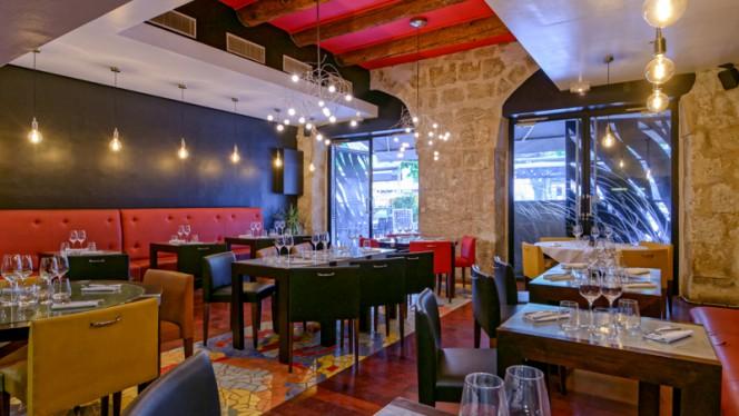 Salle du restaurant - Maison MV, Marseille