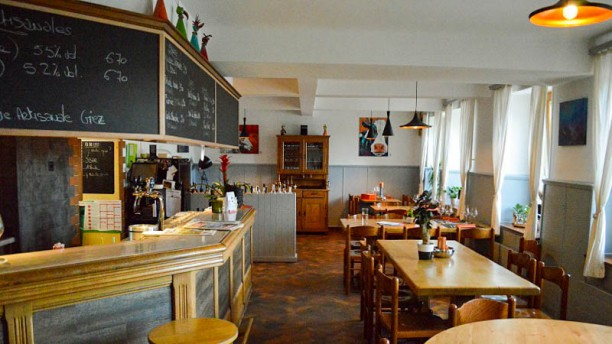 Auberge de la Croix-d'Or Le Café