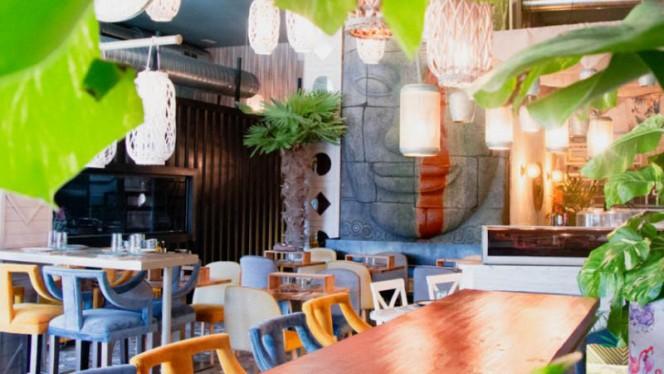 Vista de la sala - Monkey Fun Kitchen, Collado Villalba