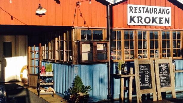 Kroken The entrance