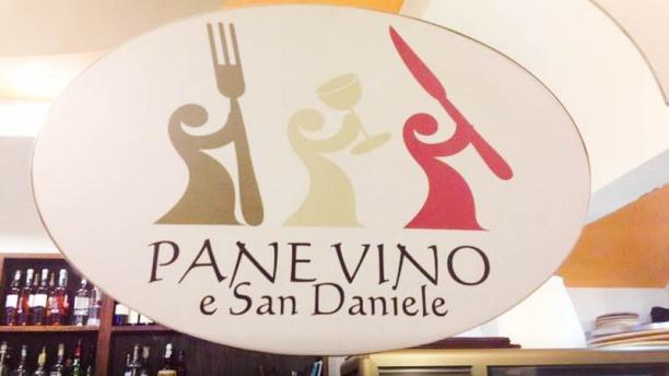 Pane Vino e San Daniele Il ristorante
