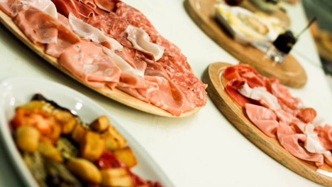 Le pizze - Pane Vino e San Daniele, Bologna