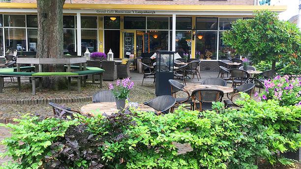Grand Cafe Bistro-rant 't Langenbaergh Terras