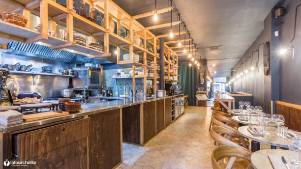 Il Cuoco Galante Salon du restaurant