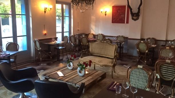 Le Coq Salle du restaurant