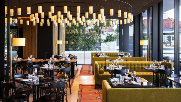 Café Príncipe Real Vista da sala