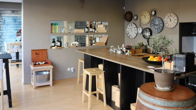 Vista da sala - Reserva Wine Bar, Matosinhos