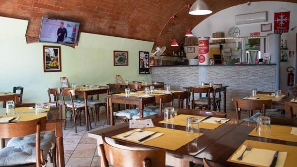 Ristoro Pizzeria Vecchio Forno Vista sala