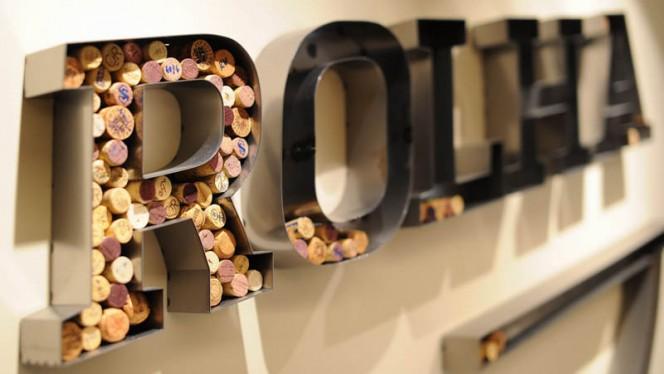 Detalhe de decoração - ROLHA - Restaurante & Garrafeira, Braga