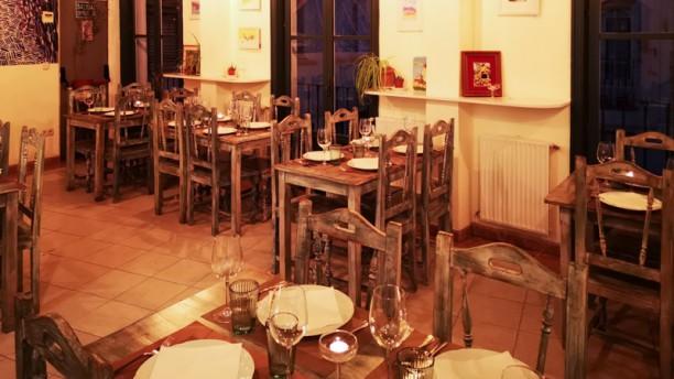 Casa Don Quijote Bodega Restaurante Vista sala