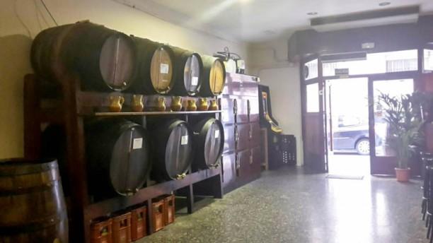 Bar bodega Vicente Vista del interior