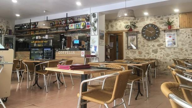 Coppelia Salle du restaurant