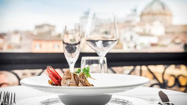 Minerva Roof Garden In Rome Restaurant Reviews Menu And