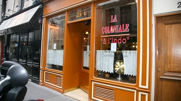 """La Coloniale """"à l'Indo"""" Bienvenue au restaurant La Coloniale """"à l'Indo"""""""