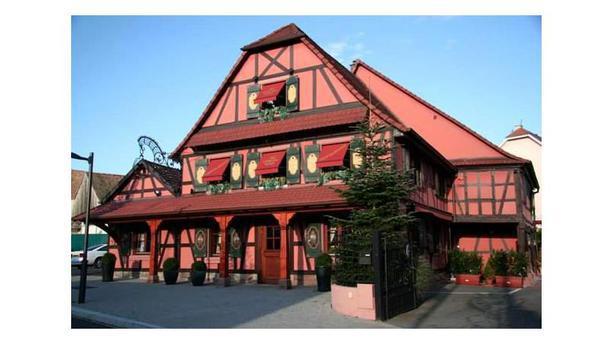 Restaurant au Cheval Noir facade