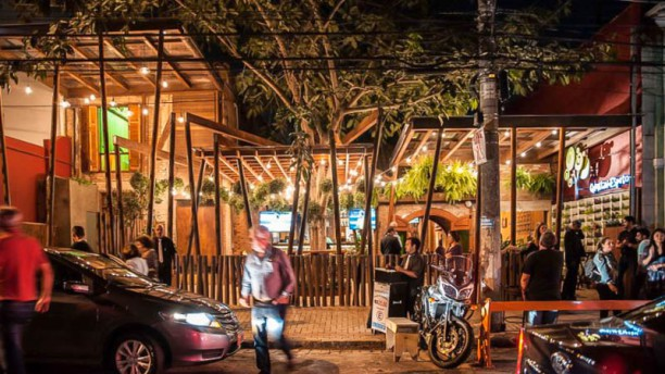 Quintal do Espeto - Perdizes fachada do restaurante