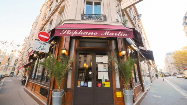 Stéphane Martin façade du restaurant