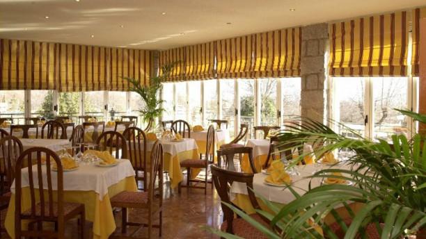 Las Gacelas Sala del restaurante