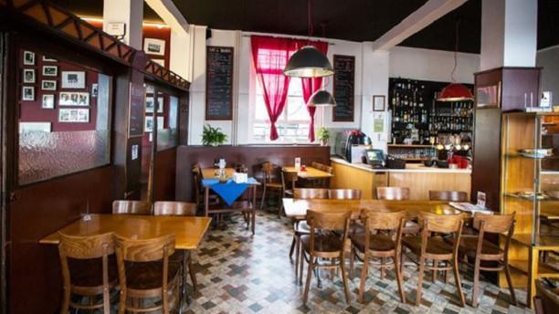 Le Café des Bouchers Vue de la salle