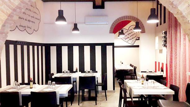 Pizzeria Bianco e Nero Vista della sala