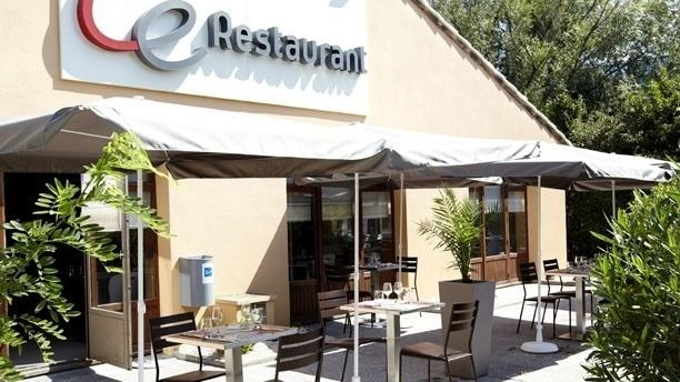 Campanile Épinay-sur-Orge Façade du restaurant