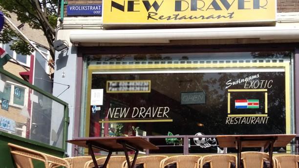 New Draver restaurant ingang