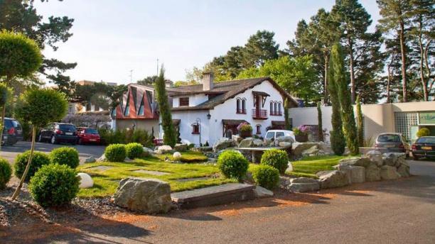 Hôtel Restaurant Quintessia Vue sur le domaine