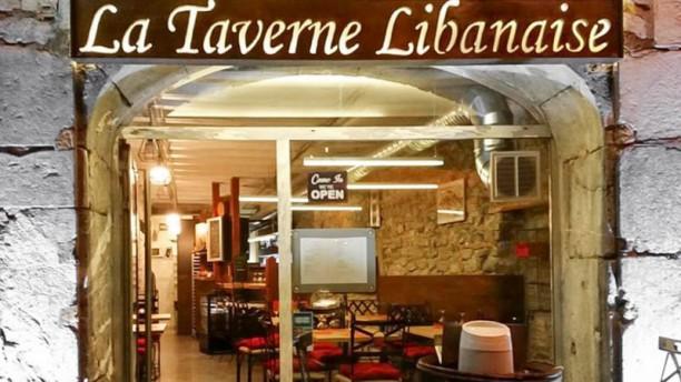 Restaurant la taverne libanaise à grenoble  menu