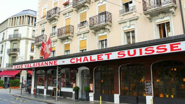 Cave Valaisanne et Chalet Suisse Devanture