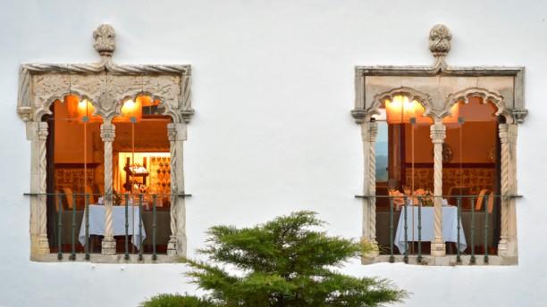 Pousada de Óbidos fachada do restaurante
