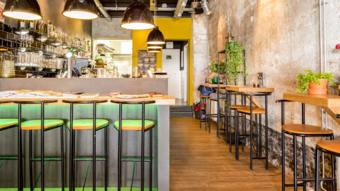 Het restaurant - 20-Five Bulgarian Bar & Kitchen, Zwolle