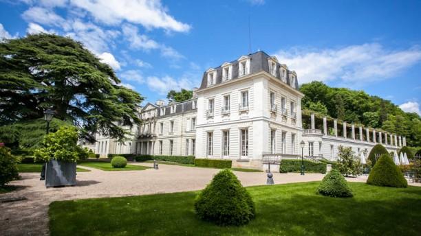 Château  De Rochecotte Devanture
