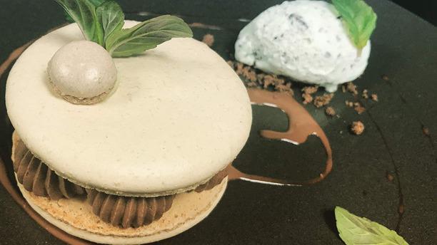 La Cuisine au Beurre Macaron menthe chocolat