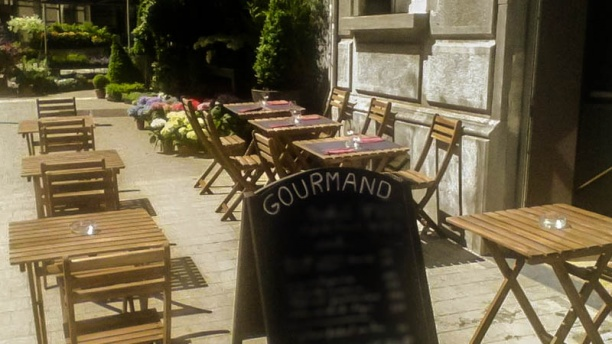 Gourmand Vue terrasse