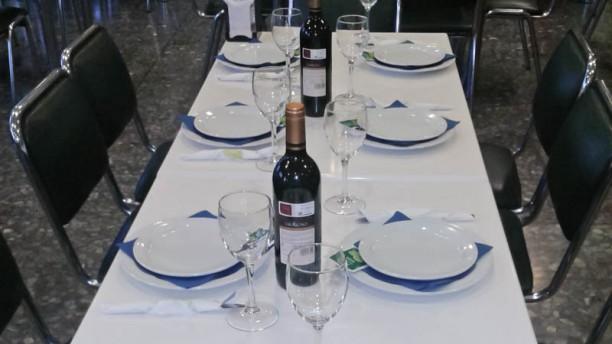 El Marisco Rojo Vista mesa