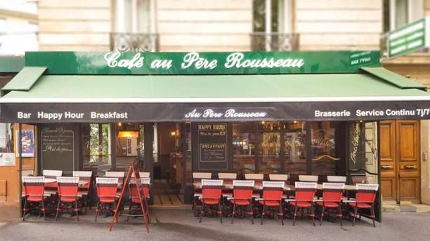 au p re rousseau restaurant 10 rue caulaincourt 75018. Black Bedroom Furniture Sets. Home Design Ideas