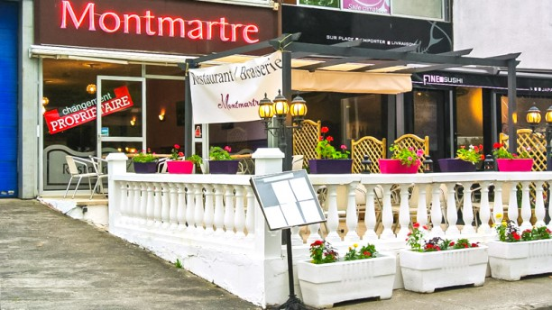 Restaurant Montmartre Devanture