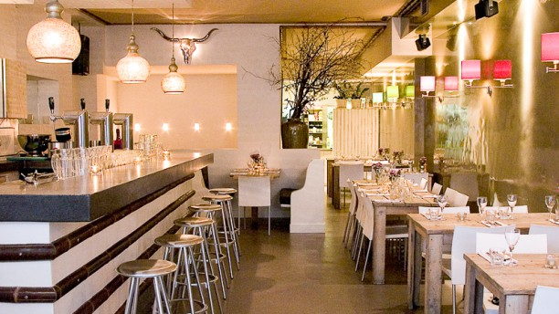 Simpel restaurantzaal
