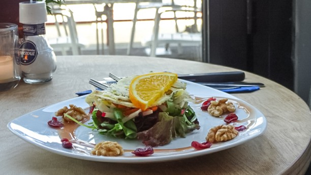 Dock 17 Salade met blue stilton