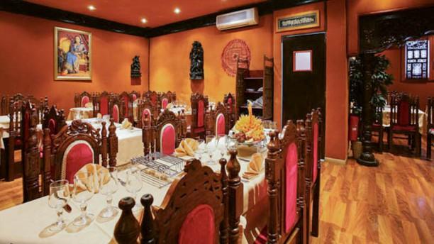 Le Maharajah Vue de la salle