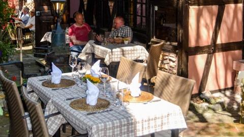 restaurant - La Bacchante - Bergheim
